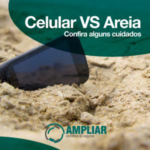 [Celular vs Areia]